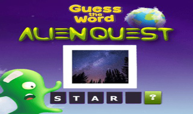 Guess The Word - Alien Quest
